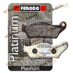 ΤΑΚΑΚΙΑ FERODO PLATINUM FDB781P ΥΨΗΛΗΣ ΠΟΙΟΤΗΤΑΣ ΓΙΑ ΜΟΤΟΣΥΚΛΕΤΕΣ