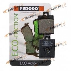 ΤΑΚΑΚΙΑ FERODO ECO-FRICTION FDB2057EF ΥΨΗΛΗΣ ΠΟΙΟΤΗΤΑΣ ΓΙΑ ΜΟΤΟΣΥΚΛΕΤΕΣ